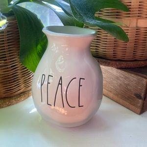 Rae Dunn Peace vase